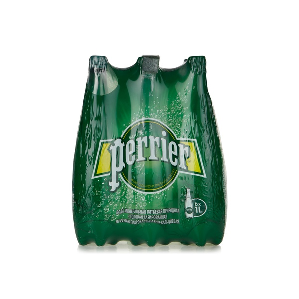 Perrier mineral water 1ltr x6