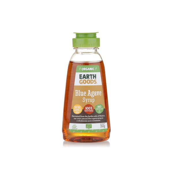 Earth Goods organic blue agave syrup 350g