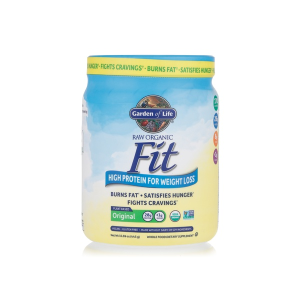 Garden Of Life Raw Organic Fit Protein Powder 427g Spinneys Uae