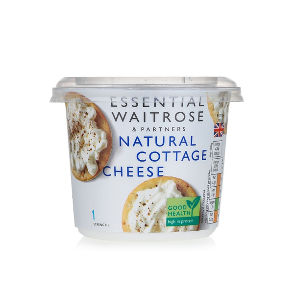 Essential Waitrose Natural Cottage Cheese 300g Spinneys Uae