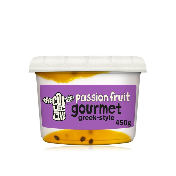 The Collective Dairy gourmet passion fruit Greek-style yoghurt 450g