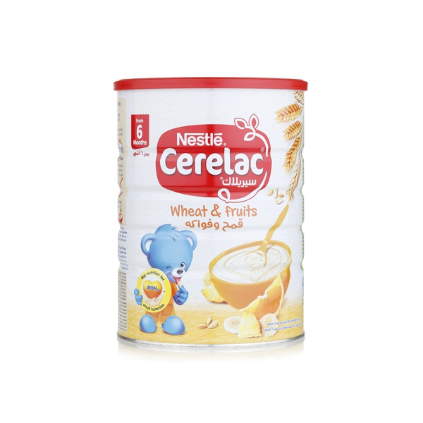 Nestle Cerelac wheat & fruits infant cereal with milk stage 2 1kg