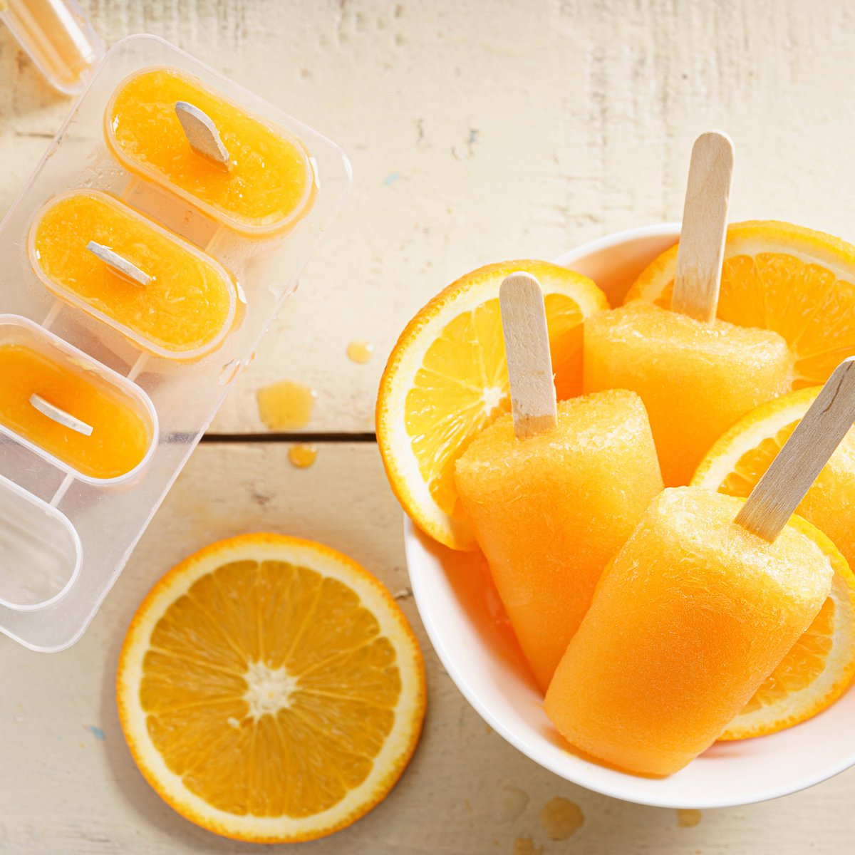 Healthy summer lollies