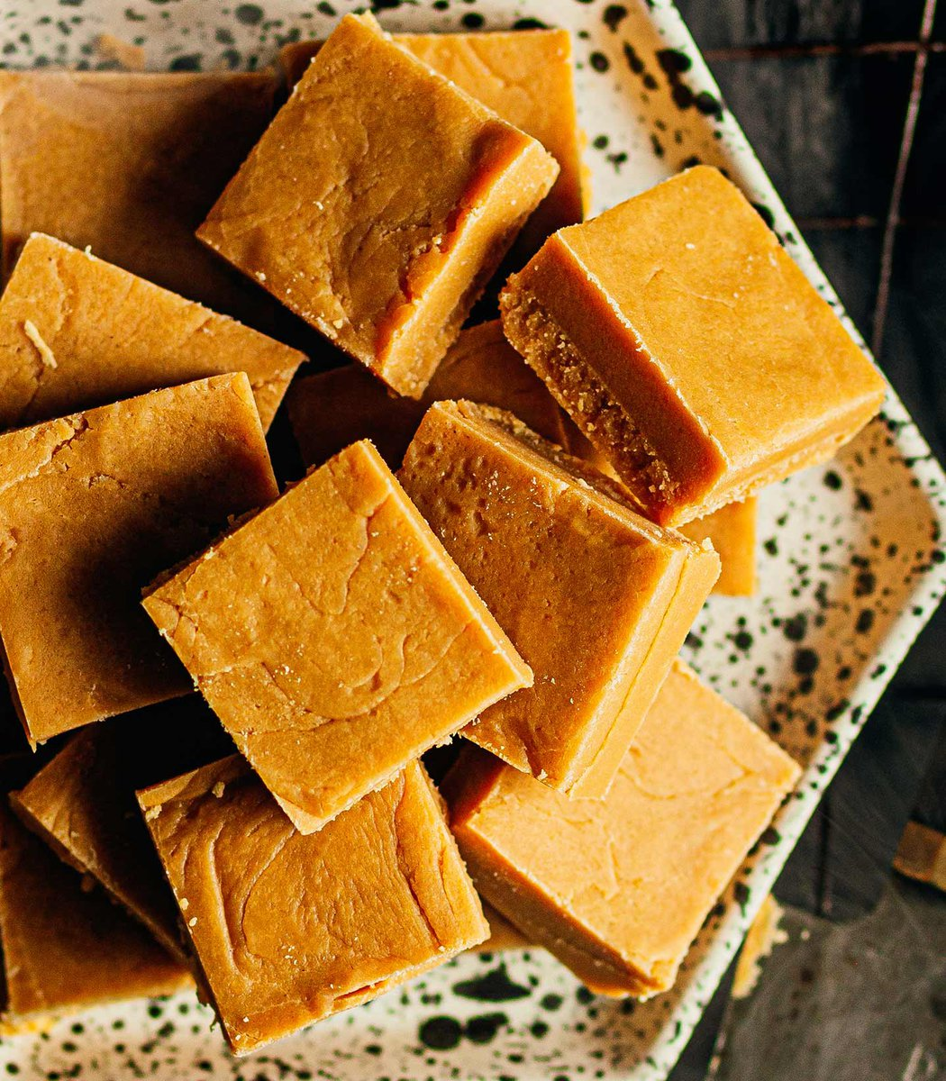 Smoked butter microwave fudge