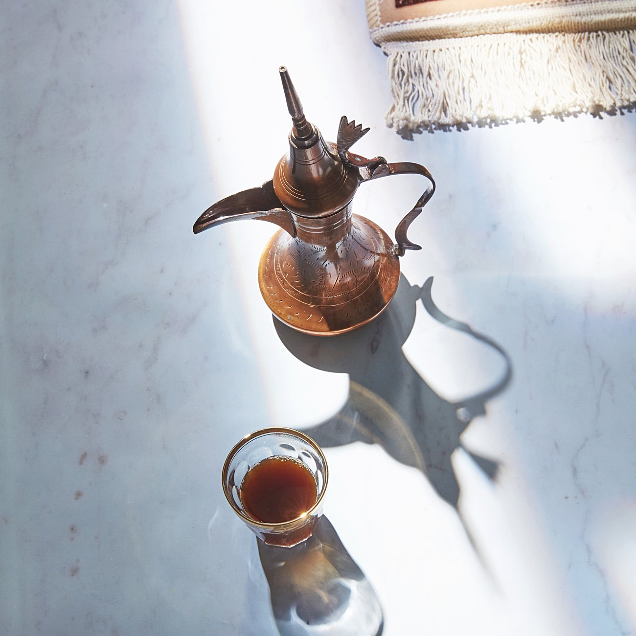 Rich and strong, Arabic coffee packs a punch